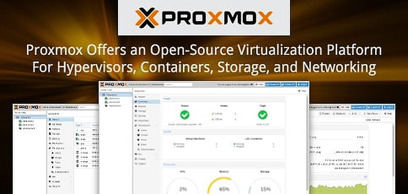 Proxmox — Offering an Open-Source Virtualization Platform That Integrates Hypervisor, Container, Storage, and Networking Solutions Under One Roof