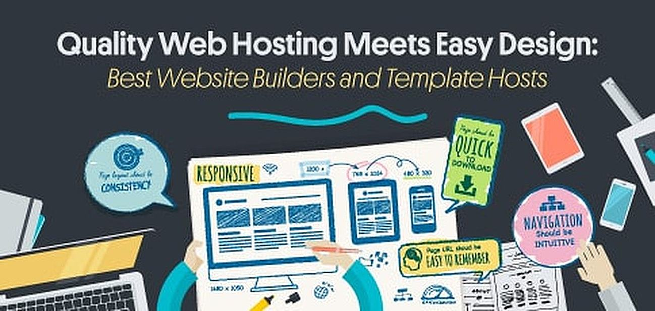 10 Best: Website Hosting with Templates & Free Site Builders (2018)