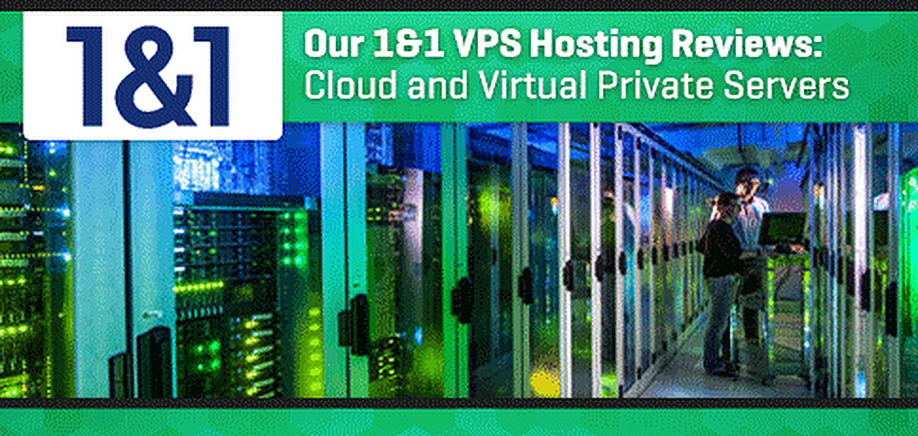 1&1 VPS Review Graphic