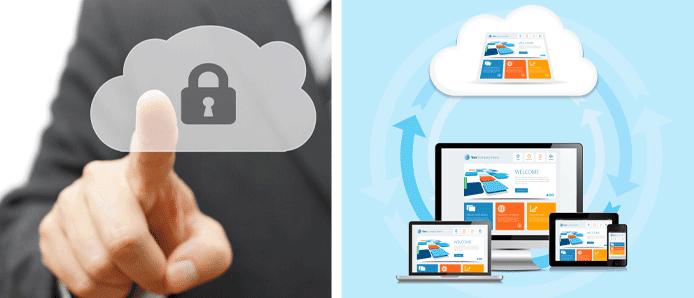 Collage Representing Website Backups