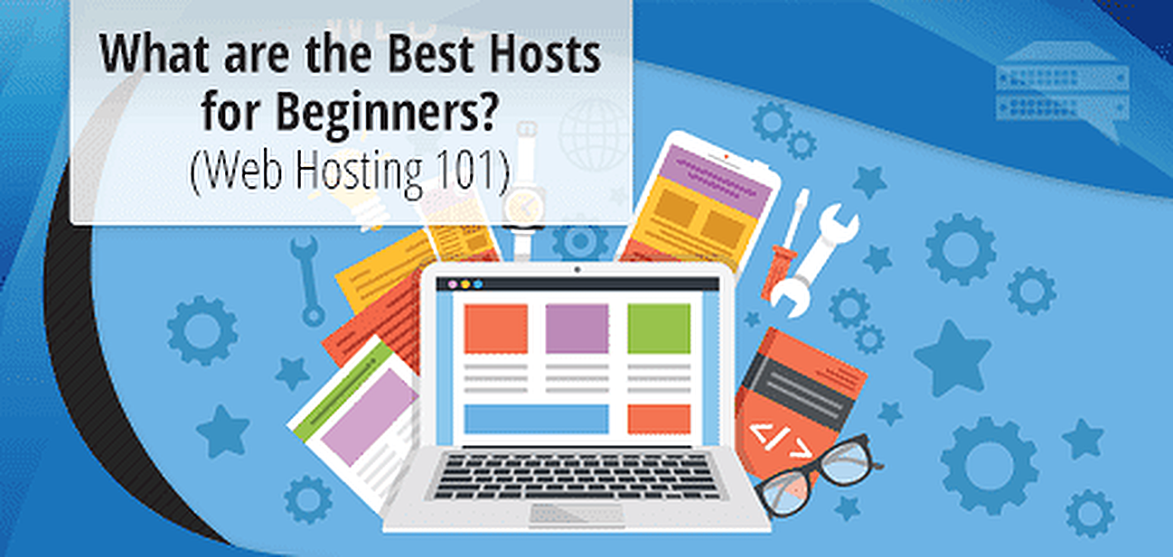 Guide to Web Hosts for Beginners Graphic