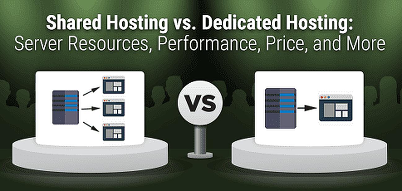 """Shared Hosting vs. Dedicated Hosting"" — Server Differences (2019)"