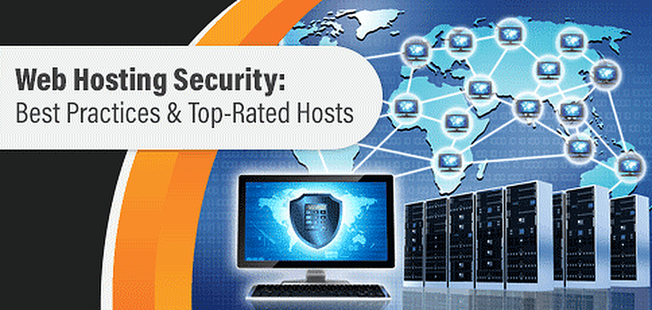 Guide to Web Hosting Security Best Practices Graphic