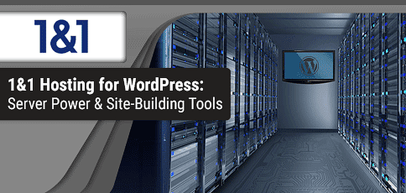 1&1 WordPress Hosting Review Graphic