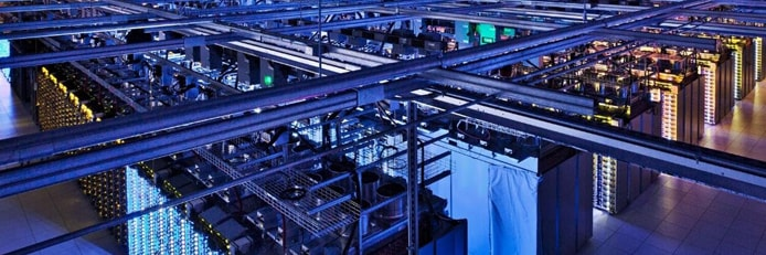 Photo of DTS-NET's datacenter
