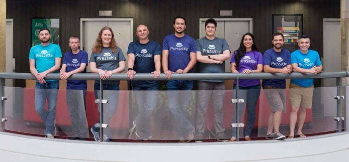 Photo of the Pressable team