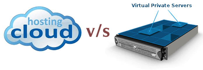 Cloud vs VPS Hosting Server Comparison