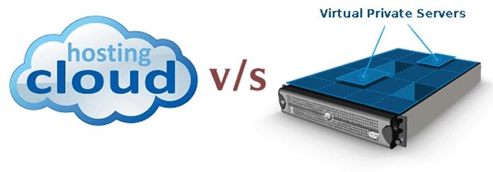 Cloud vs VPS Hosting Server Comparison