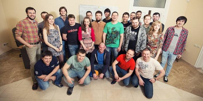 Photo of the uKit team