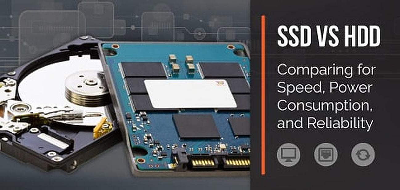 Comparing SSDs and HDDs for Speed, Reliability, and Power Consumption