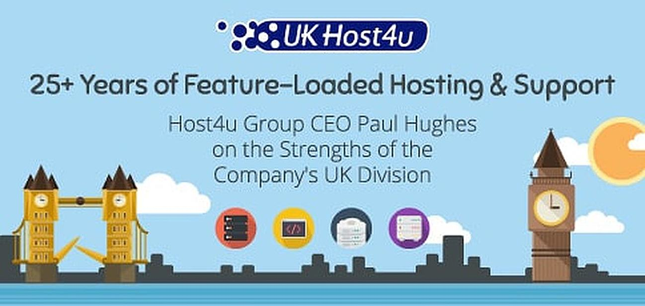 Host4u Group CEO Paul Hughes on the Strengths of the Company's UK Division — 25+ Years of Feature-Loaded Hosting & Support for SMBs