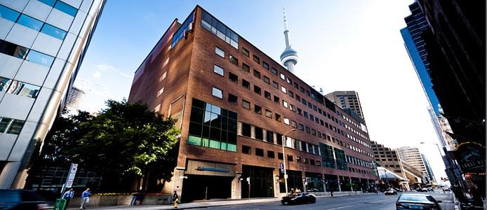 Photo of a Cirrus Tech datacenter building in Toronto