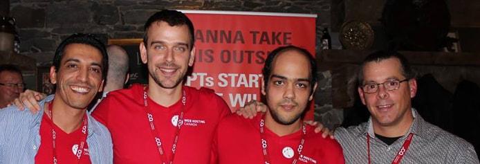 Photo of the Web Hosting Canada team