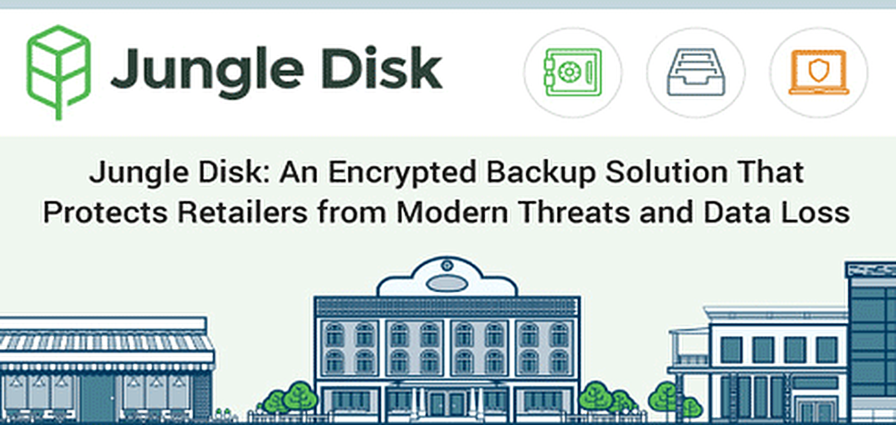 Jungle Disk: An Encrypted Backup Solution That Protects Retailers from Modern Threats and Data Loss