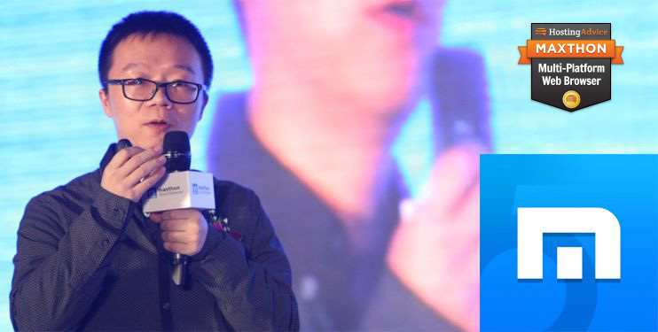 Photo of Jeff Chen, CEO and Founder of Maxthon