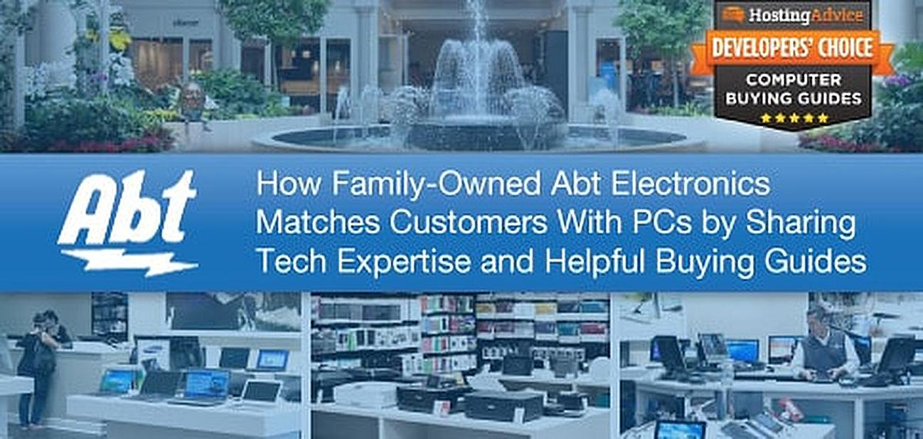 80+ Years of Abt Electronics: How Technical Expertise and Personable Support Help the Family-Owned Retailer Match Customers with PCs