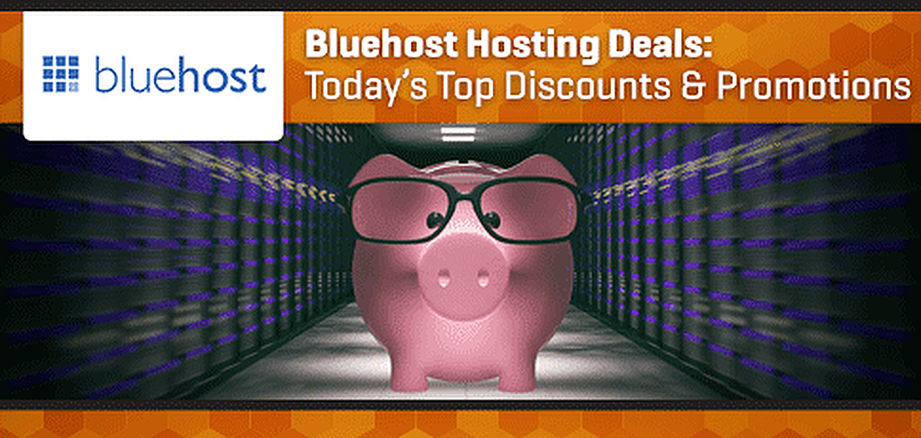 Bluehost Coupons Graphic