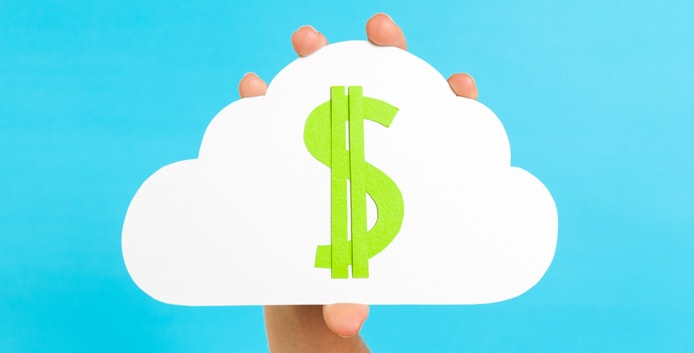 Photo illustration of cloud hosting prices