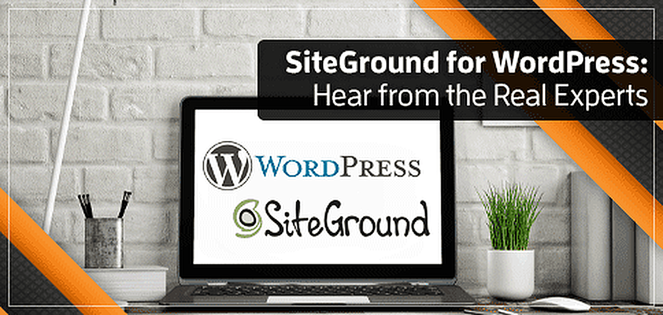 SiteGround for WordPress graphic