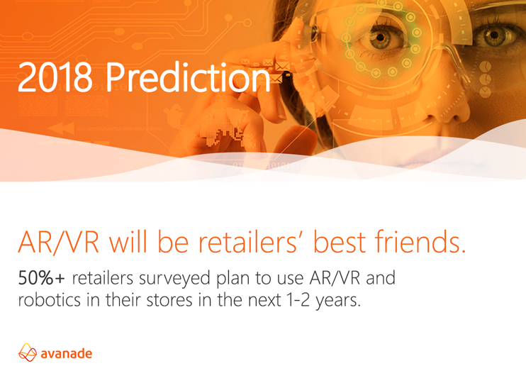Avanade 2018 retail prediction for AR/VR