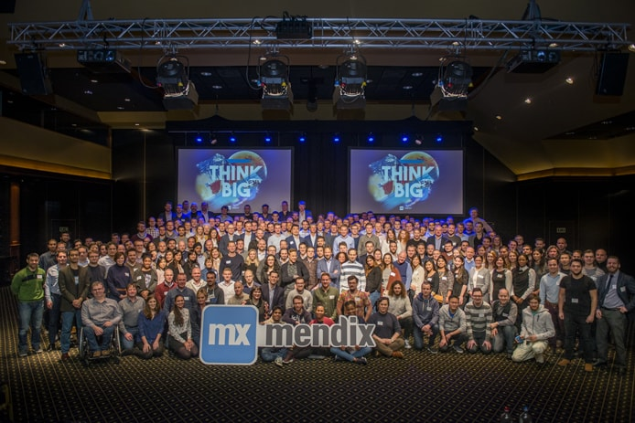 Photo of the Mendix team