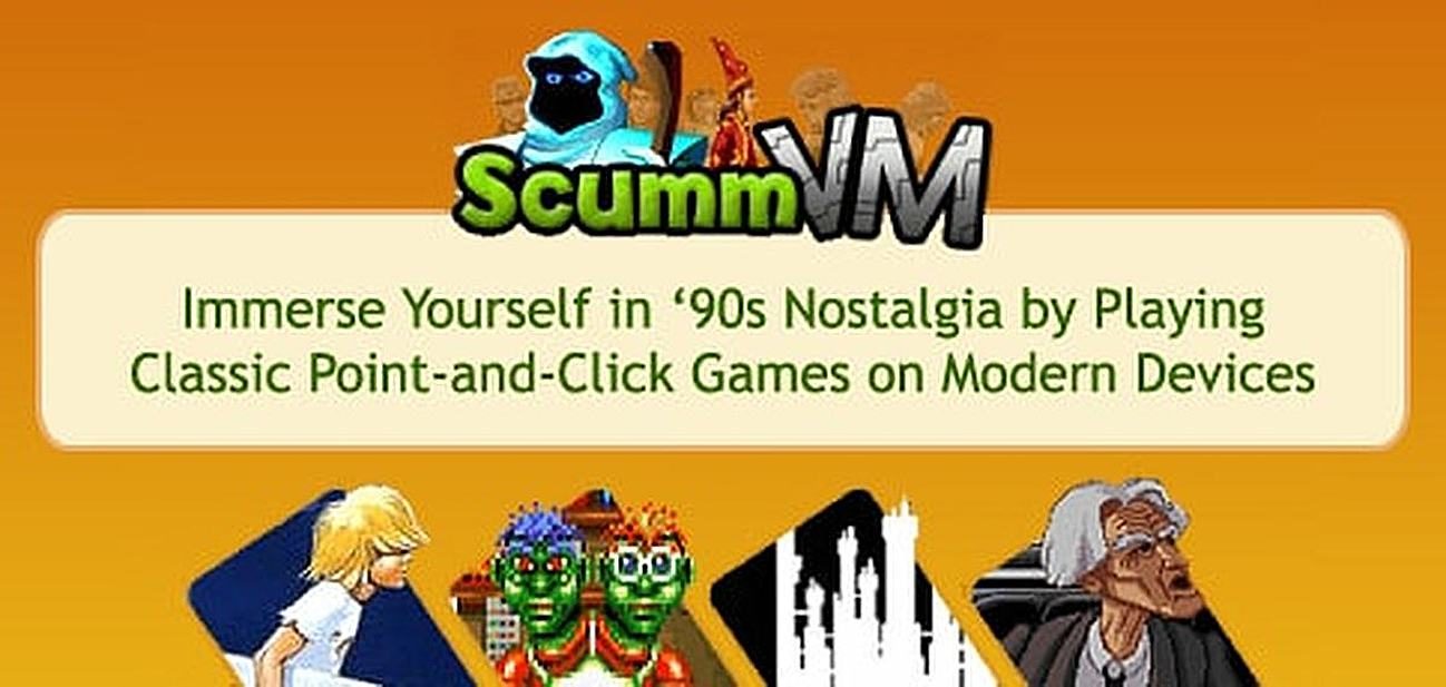 ScummVM — Immerse Yourself in '90s Nostalgia by Playing Your Favorite Classic Point-and-Click Computer Games on Modern Devices