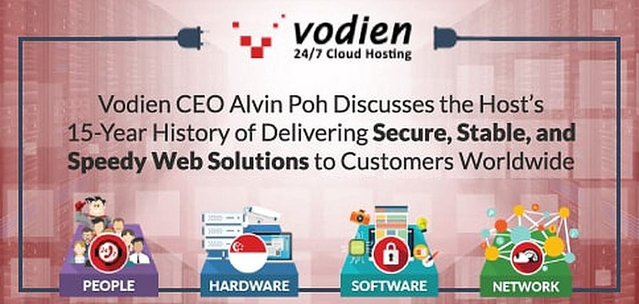 Vodien CEO Alvin Poh Discusses the Host's 15-Year History of Delivering Secure, Stable, and Speedy Web Solutions to Customers Worldwide