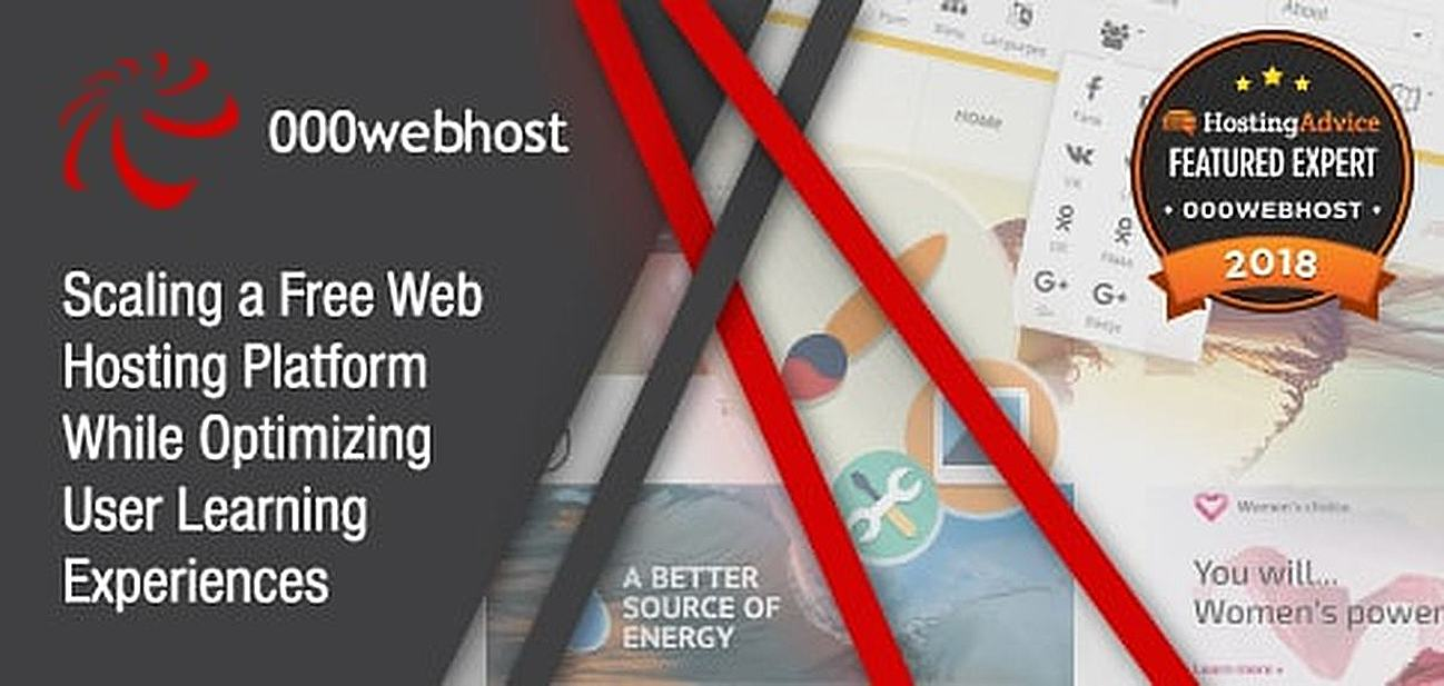 Scaling a Free Web Hosting Platform While Optimizing User Learning Experiences
