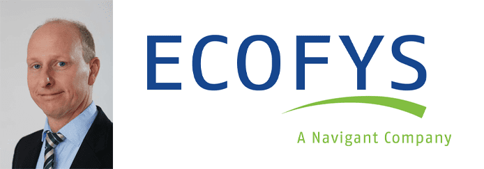 Rolph Spass's headshot and the Ecofys logo