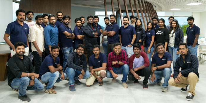 Photo of the Freshmarketer team