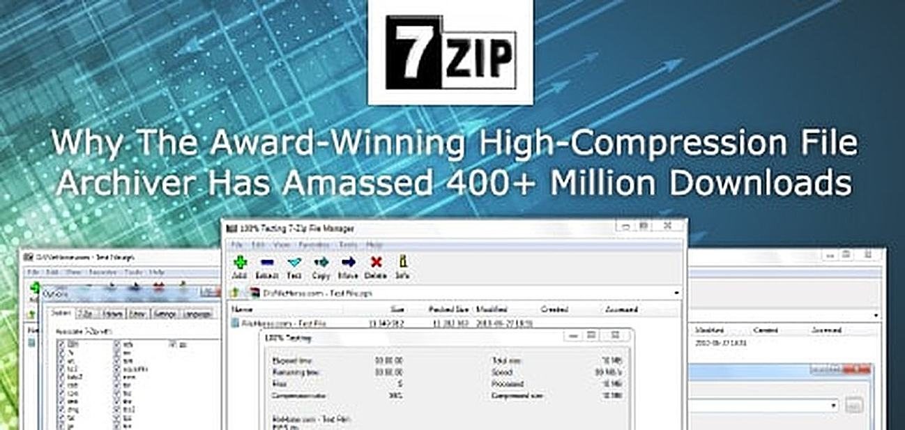 7 Zip Why The Award Winning High Compression File Archiver Has Amassed 400 Million Downloads By Home Users And Businesses Hostingadvice Com Hostingadvice Com