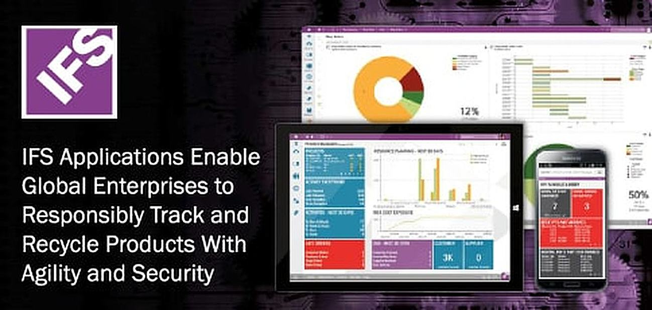 IFS Applications Enable Global Enterprises to Responsibly Track and Recycle Products With Agility and Security