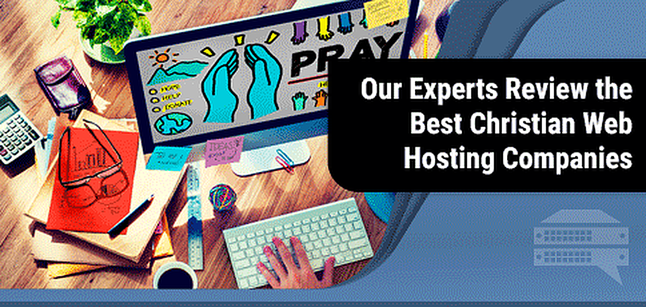 Christian Web Hosting Companies Graphic