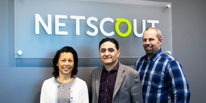 Image of NETSCOUT's Packet Flow Systems Team