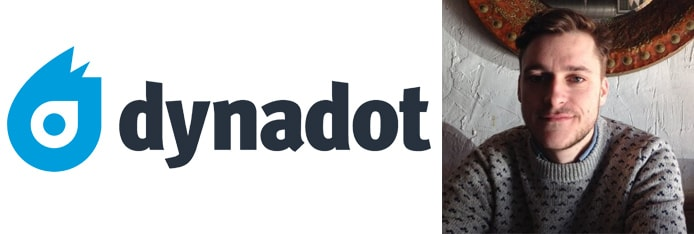 Image of Barry Couglan and the Dynadot logo