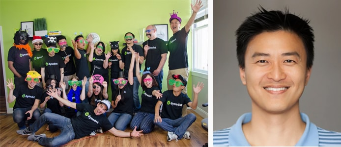 Images of Dynadot employees and Founder Todd Han