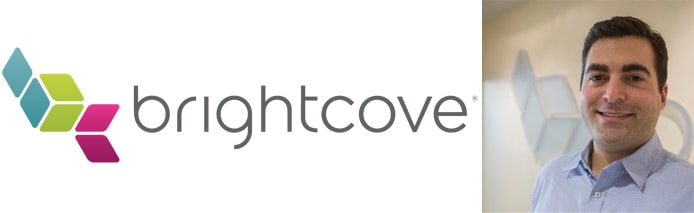 Image of Paul Casinelli and the Brightcove logo