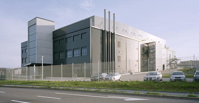 Bild av datacenter i Zürich