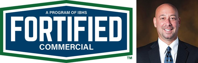 FORTIFIED Commercial logo with Image of Chuck Miccolis
