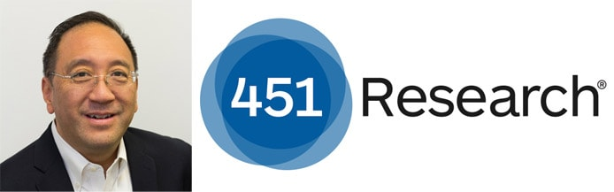Image of Brett Azuma with the 451 Research logo