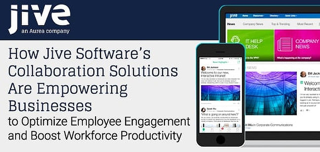 How Jive Software's Collaboration Solutions Are Empowering Businesses to Optimize Employee Engagement and Boost Workforce Productivity