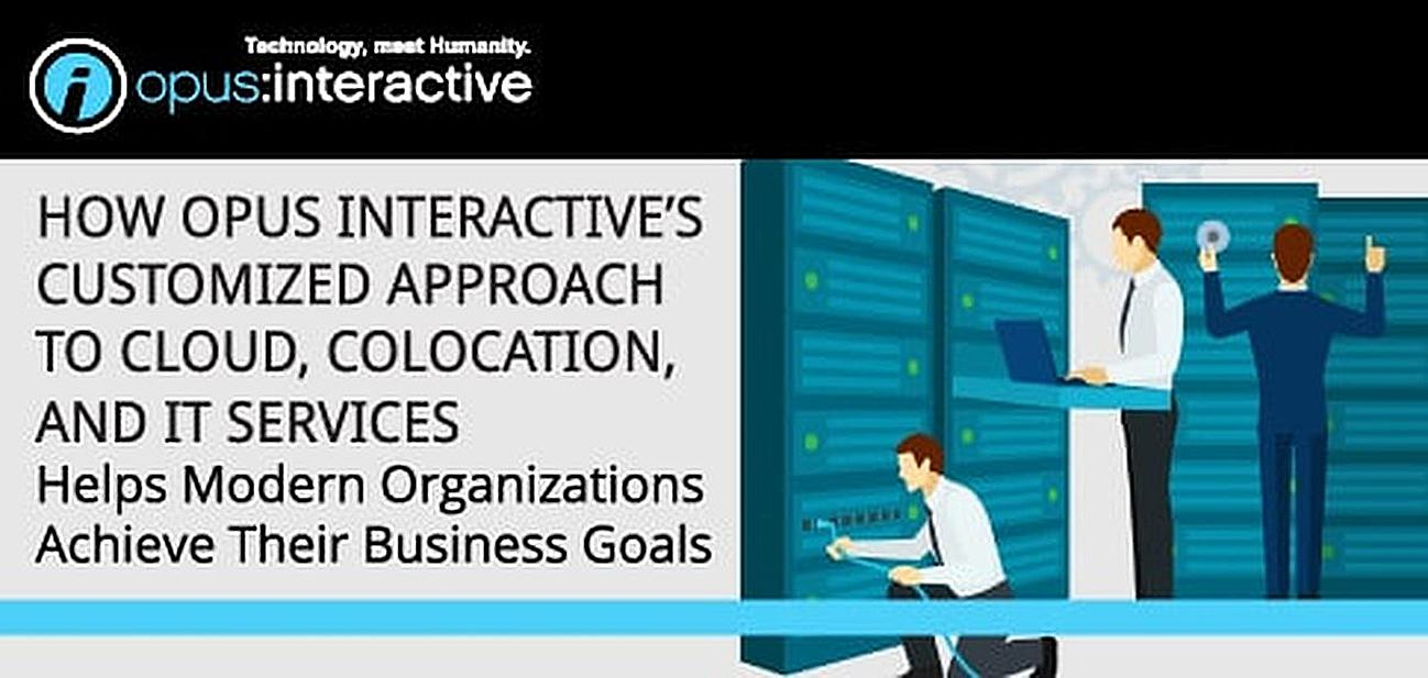 How Opus Interactive's Customized Approach to Cloud, Colocation, and IT Services Helps Modern Organizations Achieve Their Business Goals