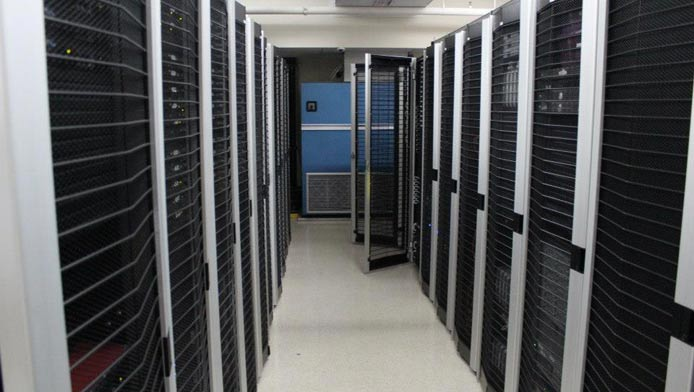 Photo of a JaguarPC datacenter
