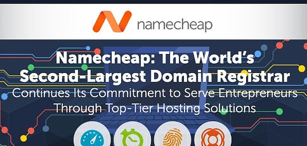 Namecheap: The World's Second-Largest Domain Registrar Continues Its Commitment to Serve Entrepreneurs Through Top-Tier Hosting Solutions