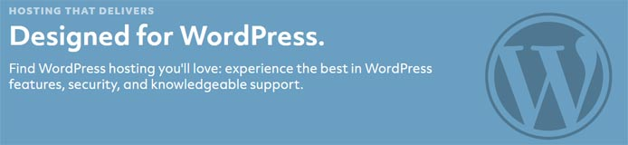 "The WordPress logo and text reading ""Designed for WordPress"""