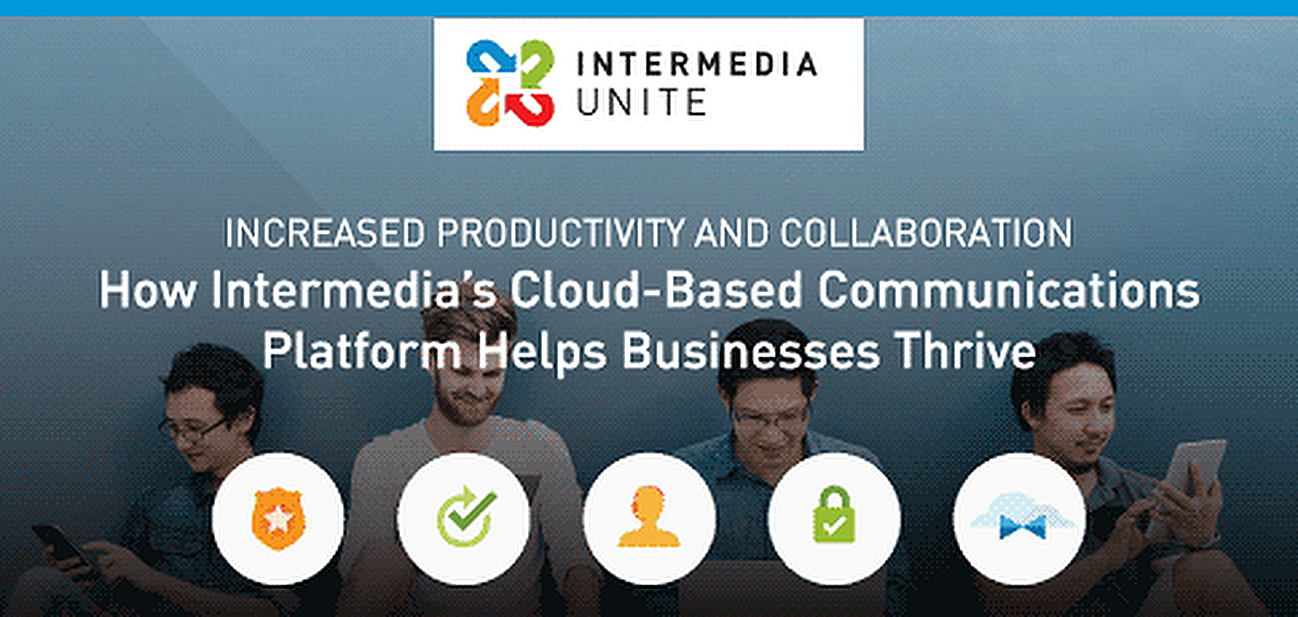 Increased Productivity and Collaboration With Intermedia Unite™ — How Cloud-Based Communications Help Businesses Thrive