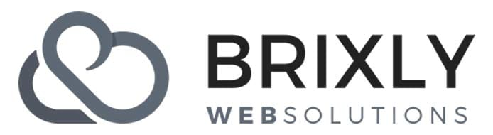 Headshot of Brixly CEO Dennis Nind and company logo