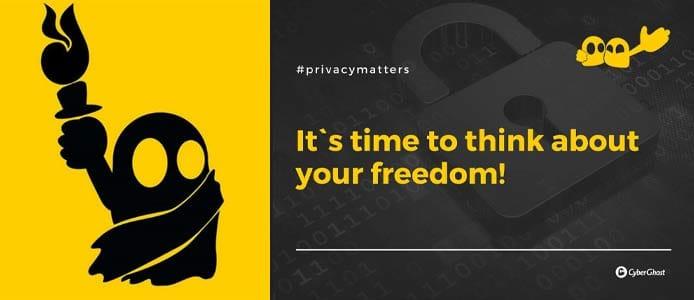 Graphic depicting internet freedom