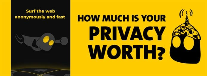 Graphic depicting the value of privacy