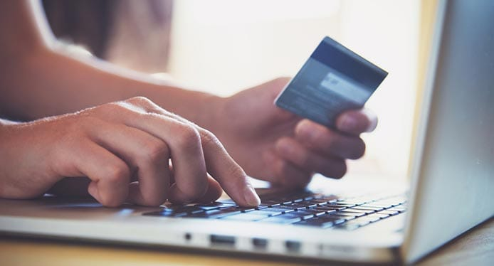 Image of online transaction